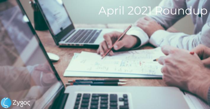April 2021 Roundup